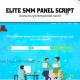 Elite Pro Smm Panel Script – Advanced Panel